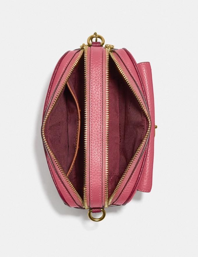Coach Willow Camera Bag in Colorblock Brass/Rouge Multi New Women's New Arrivals Bags Alternate View 3