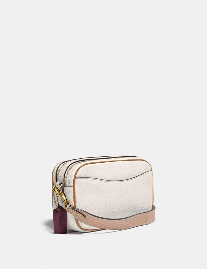 Coach Willow Camera Bag in Colorblock Brass/Chalk Multi New Women's New Arrivals Bags Alternate View 1