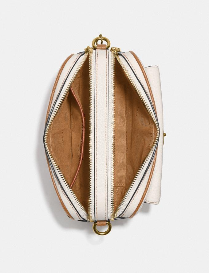 Coach Willow Camera Bag in Colorblock Brass/Chalk Multi null Alternate View 3