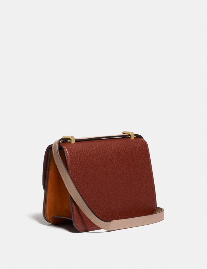 Coach Alie Shoulder Bag 18 in Colorblock B4/Rust Multi New Featured Lunar New Year Alternate View 1