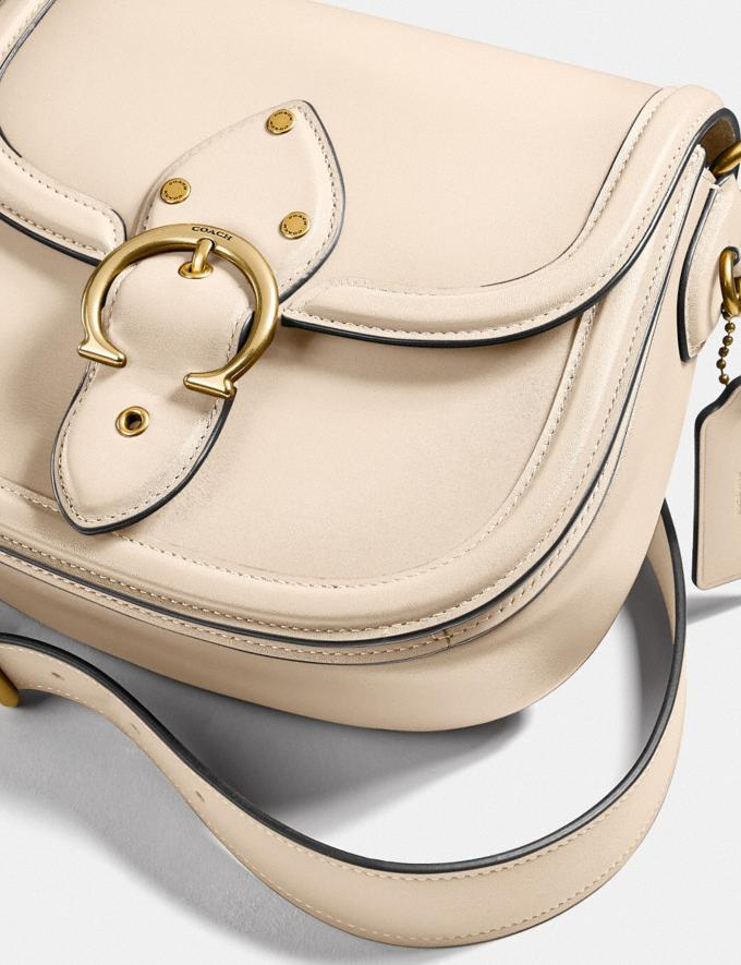 Coach Beat Saddle Bag Brass/Ivory New Women's New Arrivals Bags Alternate View 5