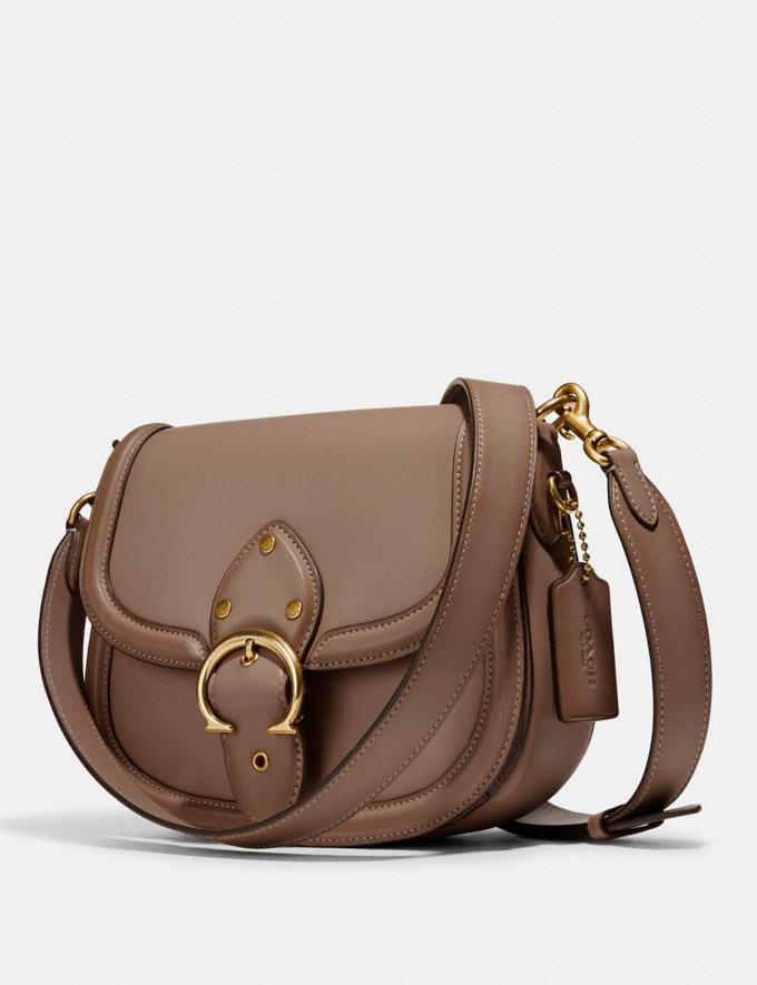 Coach Beat Saddle Bag B4/Taupe Translations null Alternate View 3