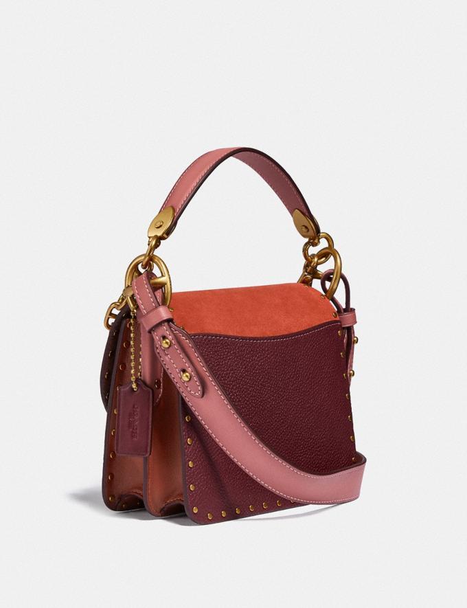 Coach Beat Shoulder Bag 18 in Colorblock B4/Rust Multi New Women's New Arrivals Bags Alternate View 1