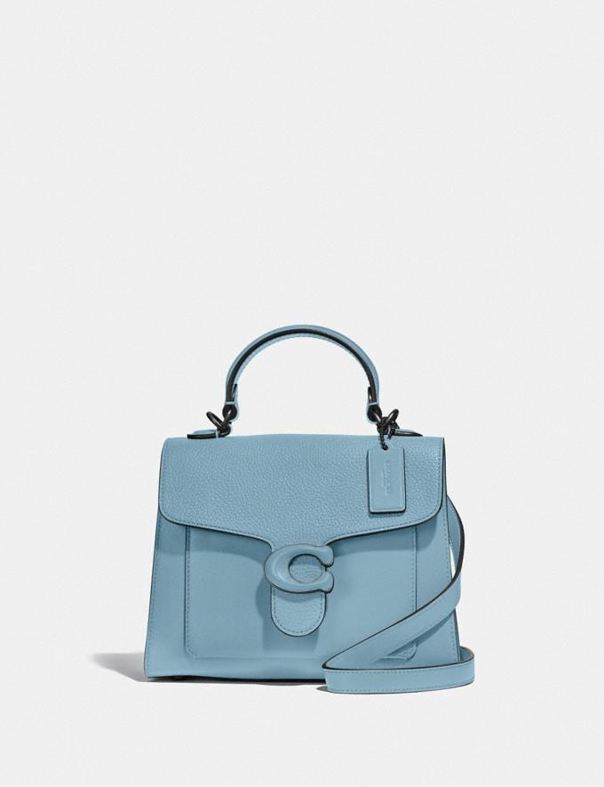 Coach Tabby Top Handle 20 V5/Azure New Women's New Arrivals Bags
