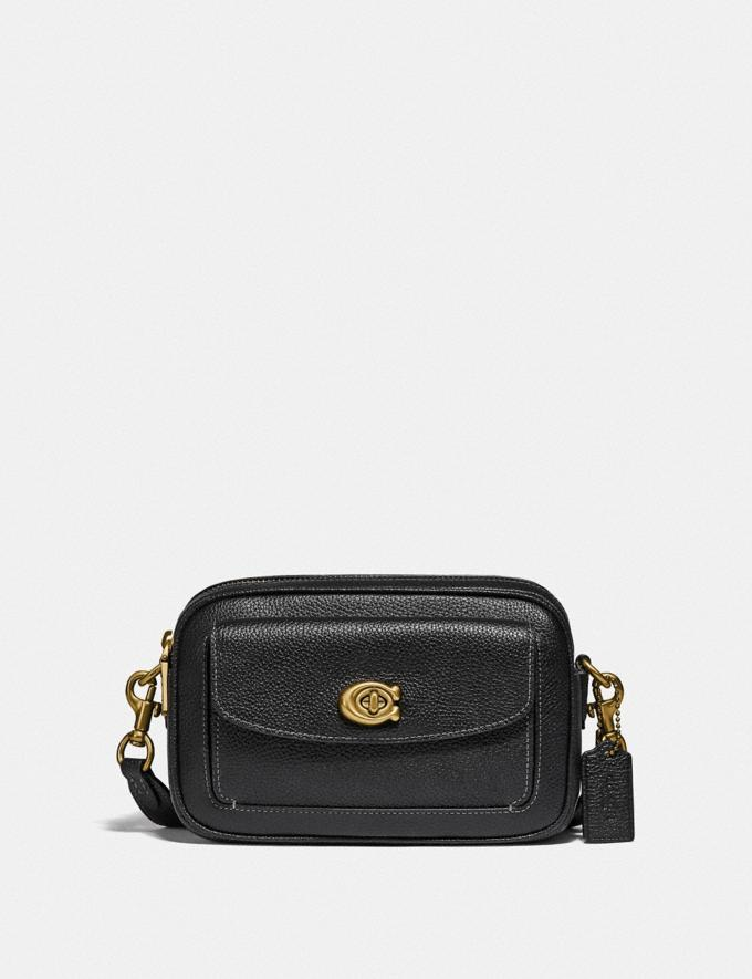 Coach Willow Camera Bag Brass/Black null