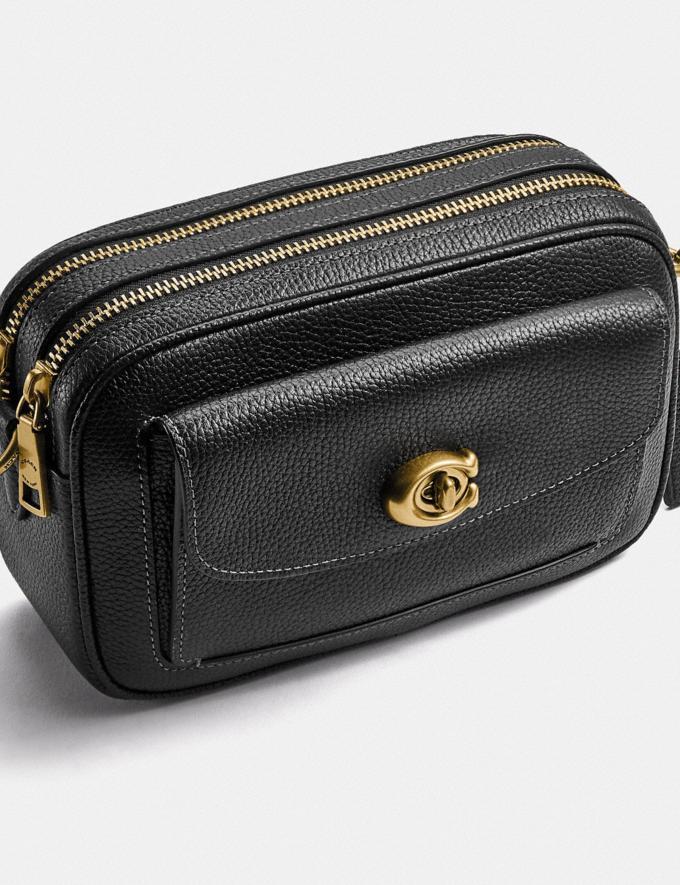 Coach Willow Camera Bag Brass/Black null Alternate View 5