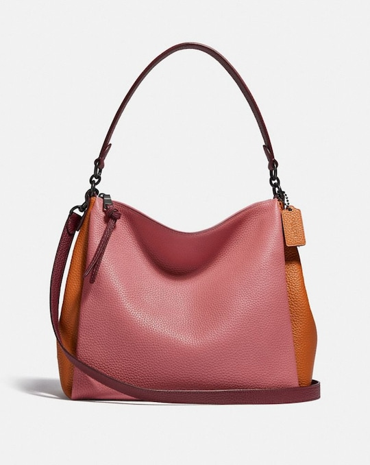 SHAY SHOULDER BAG IN COLORBLOCK