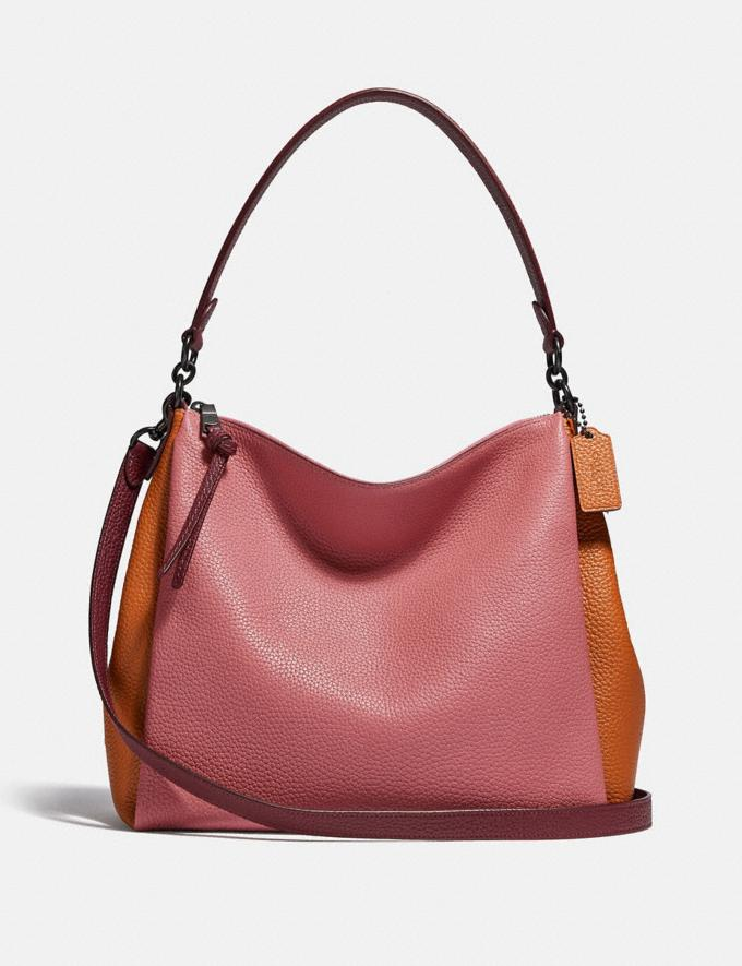 Coach Shay Shoulder Bag in Colorblock V5/Vintage Pink Multi New Women's New Arrivals Bags