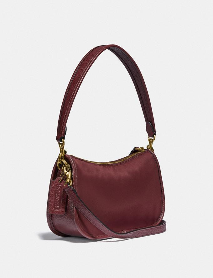 Coach Swinger Bag Brass/Wine New Women's New Arrivals Bags Alternate View 1
