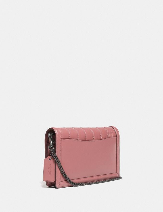 Coach Hutton Clutch Mit Steppung V5/Vintage-Rosa Damen Taschen Clutches Alternative Ansicht 1
