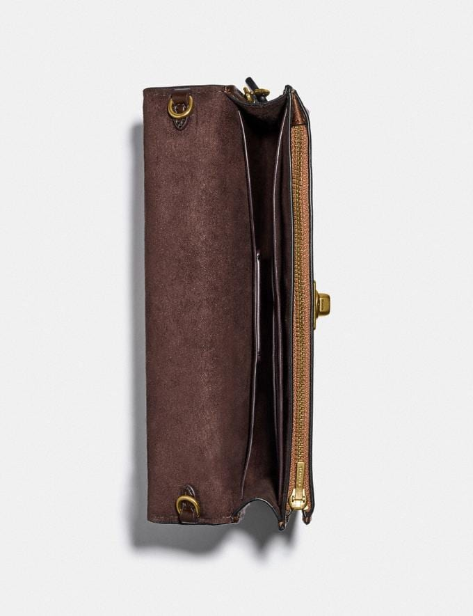 Coach Hutton Clutch Messing/Bronze Damen Taschen Clutches Alternative Ansicht 2