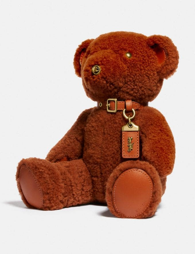 Coach Bear Collectible B4/Ginger SALE For Her Accessories