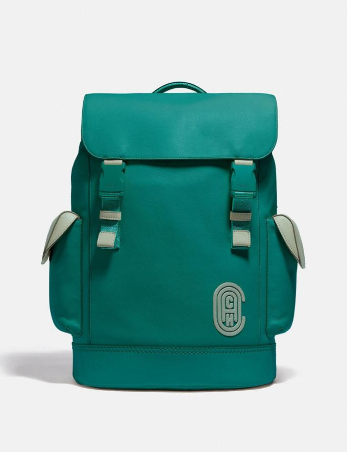 Coach Rivington Backpack Ji/Spruce/Agate Men Bags Backpacks
