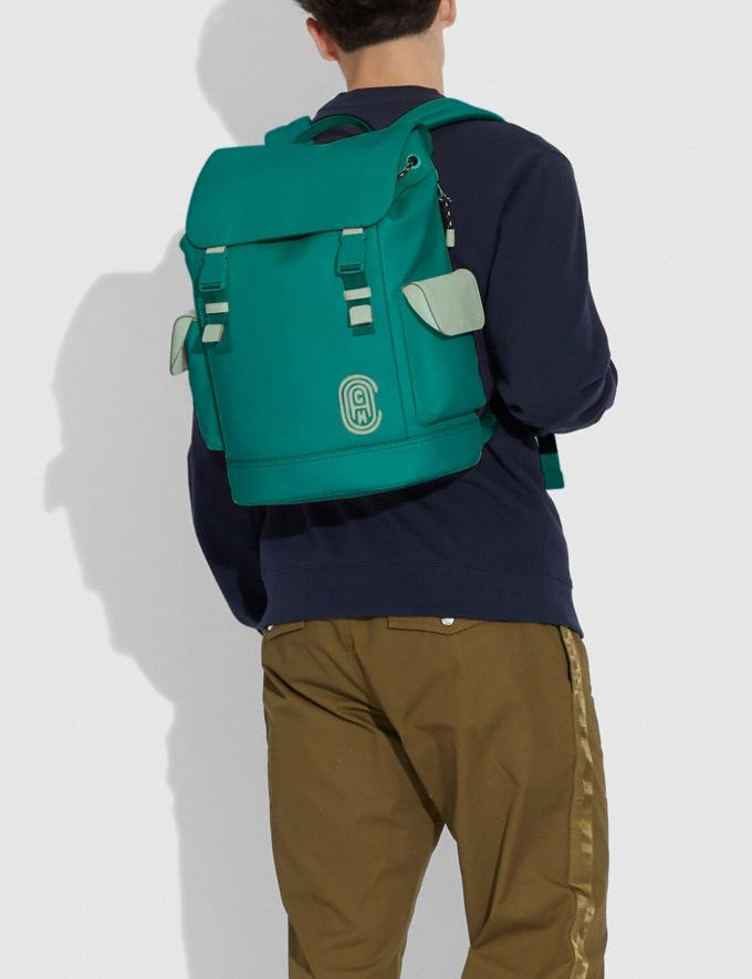 Coach Rivington Backpack Ji/Spruce/Agate Men Bags Backpacks Alternate View 3
