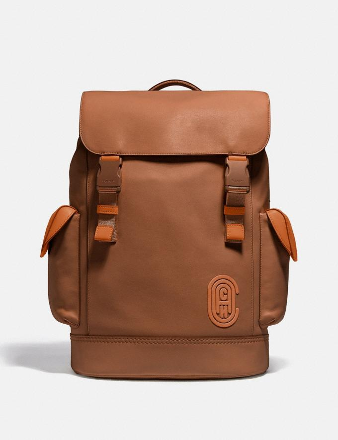 Coach Rivington Backpack Black Copper/Dark Saddle/Vintage Ginger Cyber Monday For Him Cyber Monday Sale