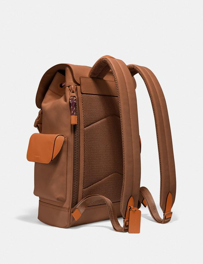 Coach Rivington Backpack Black Copper/Dark Saddle/Vintage Ginger Cyber Monday For Him Cyber Monday Sale Alternate View 1