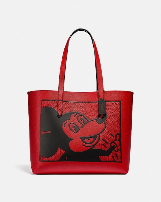 CABAS HIGHLINE DISNEY MICKEY MOUSE X KEITH HARING