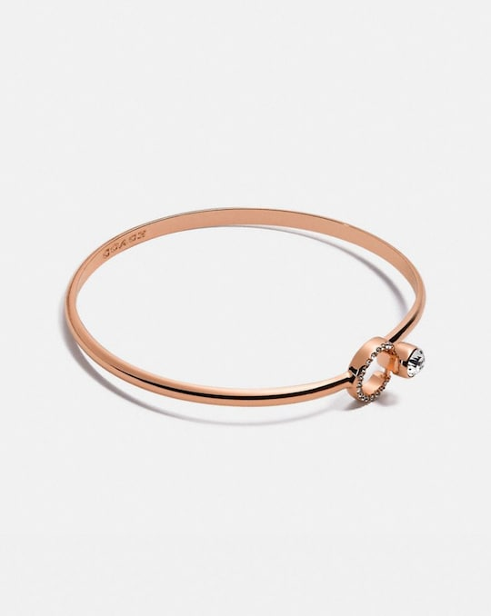 HALO PAVE BANGLE
