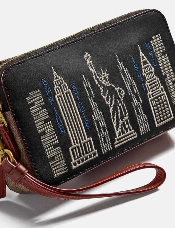 Coach Kira Crossbody With Stardust City Skyline Brass/Black Gifts For Her Under £250 Alternate View 5