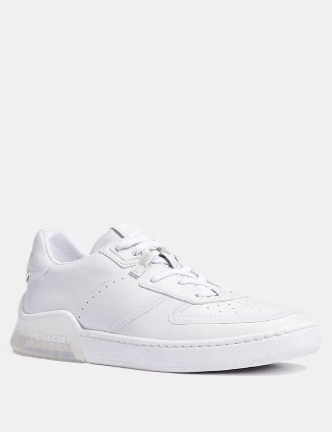 Coach Citysole Court Sneaker Optic White Men Shoes Casual