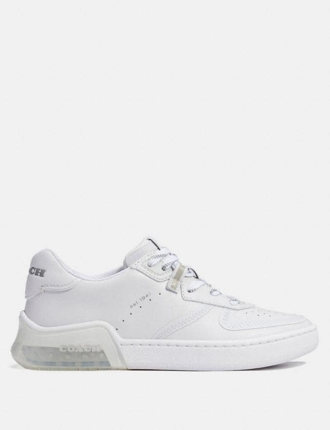 Coach Citysole Court Sneaker Optic White Men Shoes Casual Alternate View 1