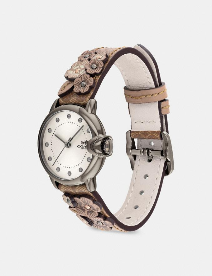 Coach Arden Watch, 28mm Tan Multi New Women's New Arrivals Accessories Alternate View 1