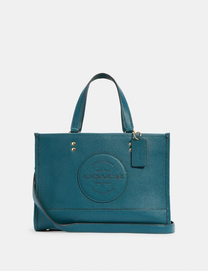 Coach Dempsey Carryall With Patch Im/Teal Ink DEFAULT_CATEGORY