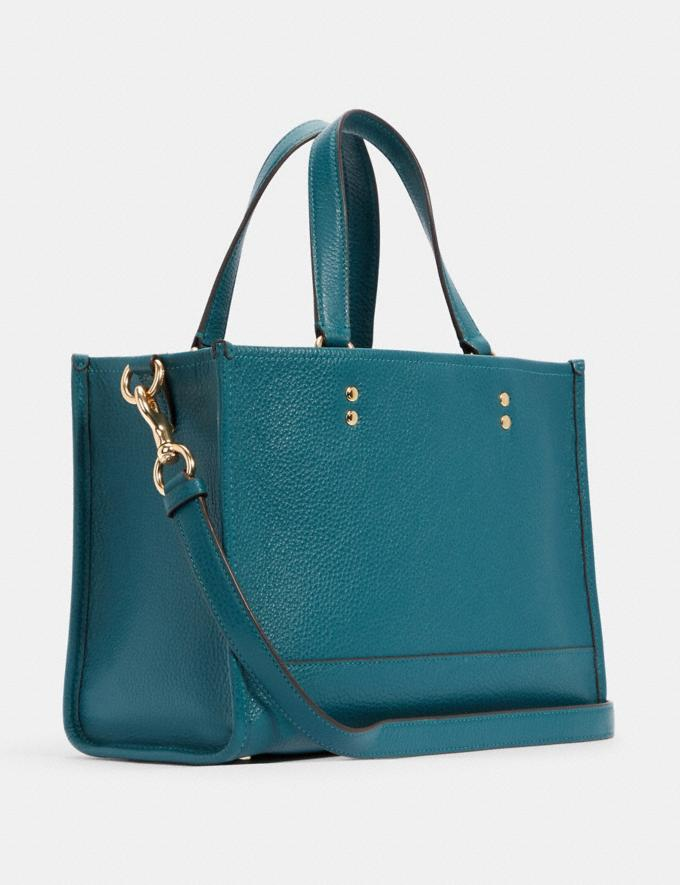 Coach Dempsey Carryall With Patch Im/Teal Ink DEFAULT_CATEGORY Alternate View 1