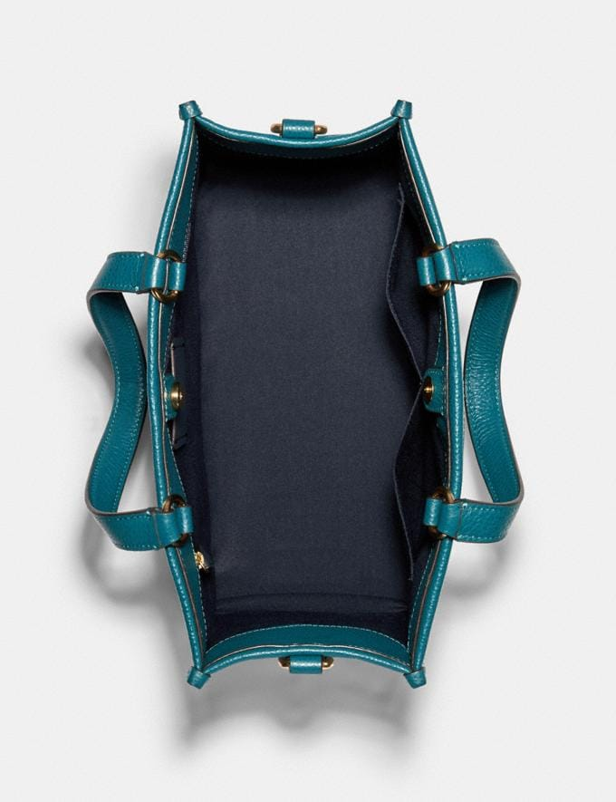 Coach Dempsey Carryall With Patch Im/Teal Ink DEFAULT_CATEGORY Alternate View 2