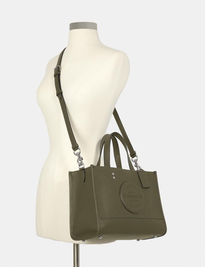 Coach Dempsey Carryall With Patch Sv/Surplus DEFAULT_CATEGORY Alternate View 3