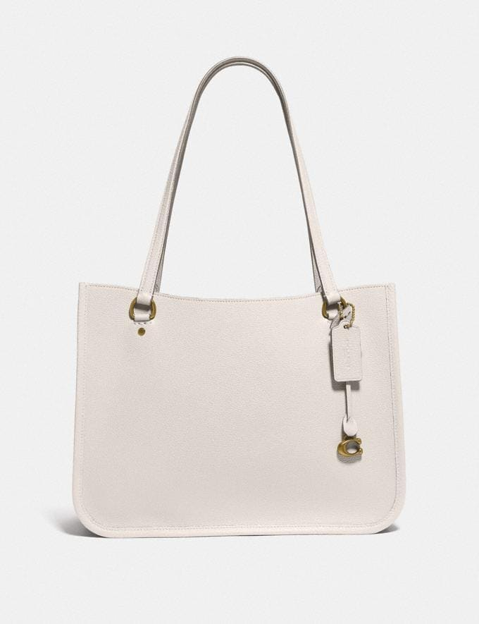 Coach Tyler Carryall Brass/Chalk