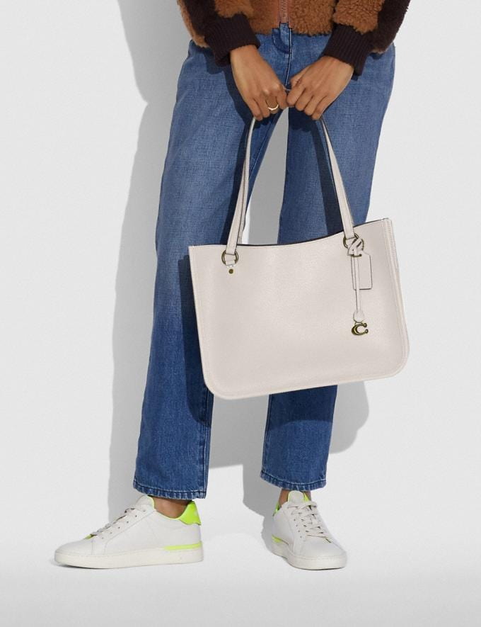 Coach Tyler Carryall Brass/Chalk  Alternate View 3