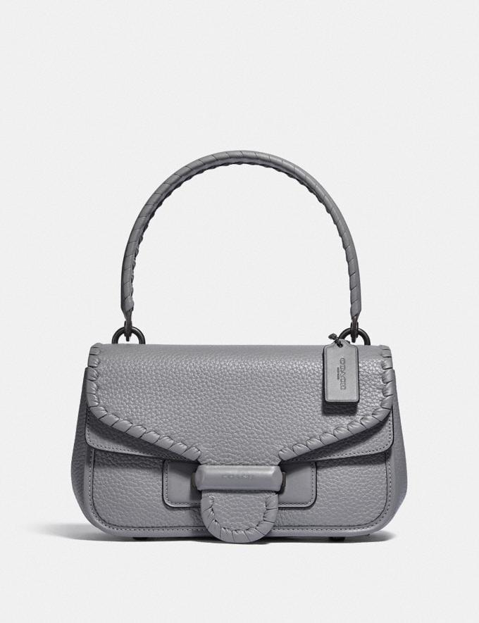 Coach Cody Shoulder Bag With Whipstitch V5/Granite