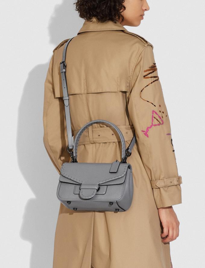Coach Cody Shoulder Bag With Whipstitch V5/Granite  Alternate View 3