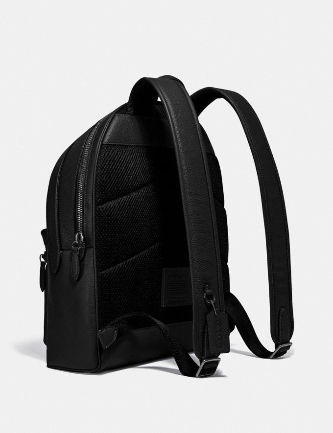 Coach Charter Backpack Black Copper/Black New Men's New Arrivals Bags Alternate View 1
