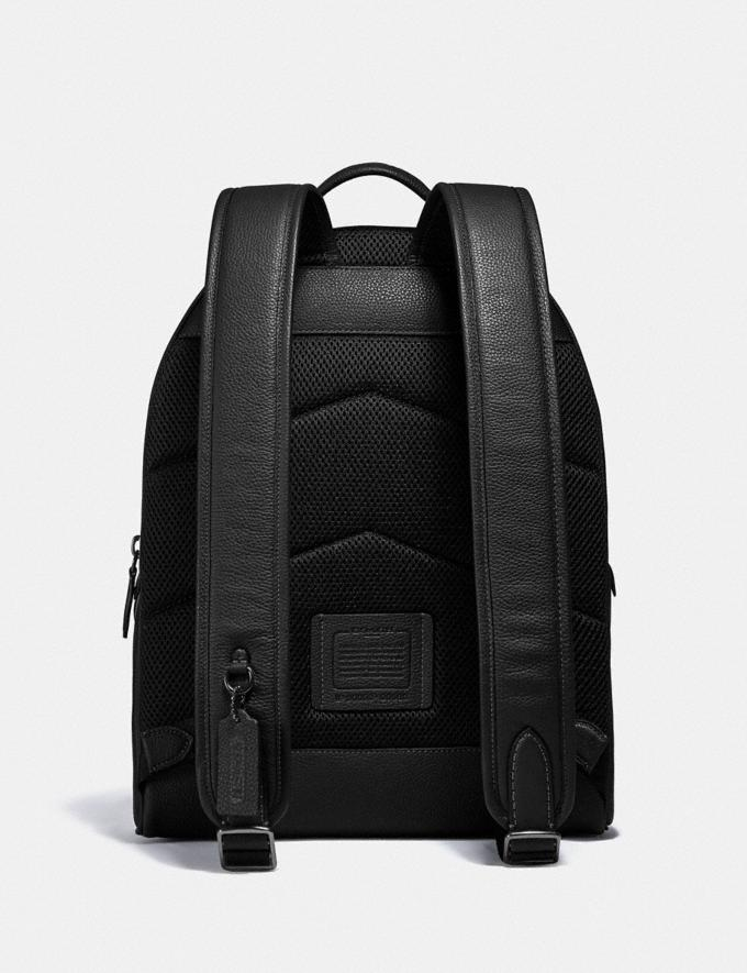 Coach Charter Backpack Black Copper/Black New Men's New Arrivals Bags Alternate View 2