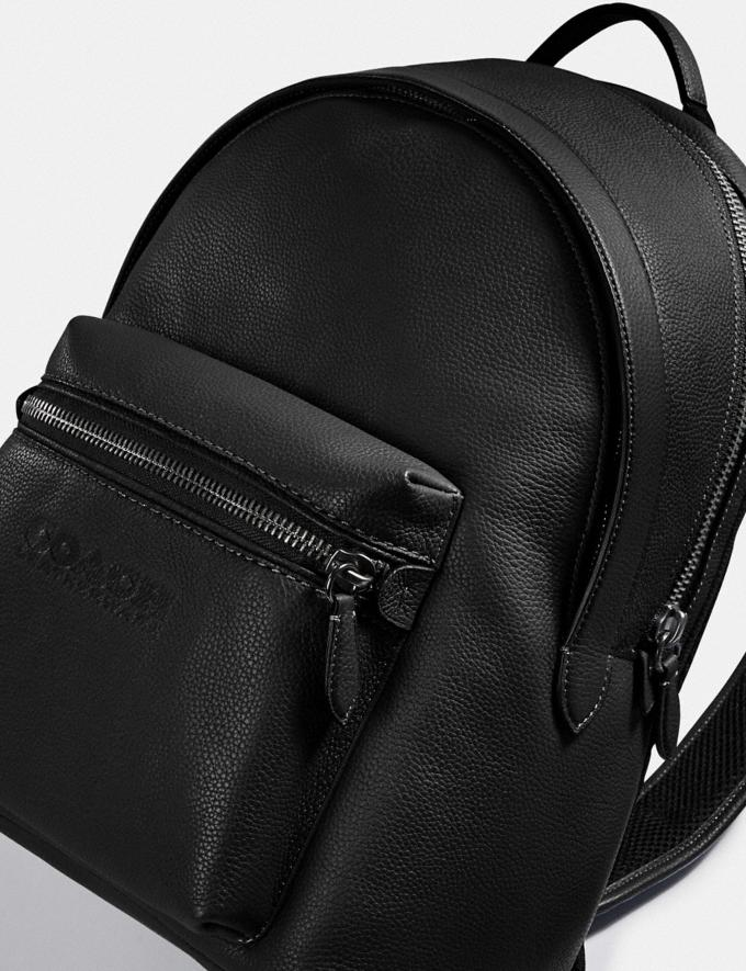 Coach Charter Backpack Black Copper/Black New Men's New Arrivals Bags Alternate View 5