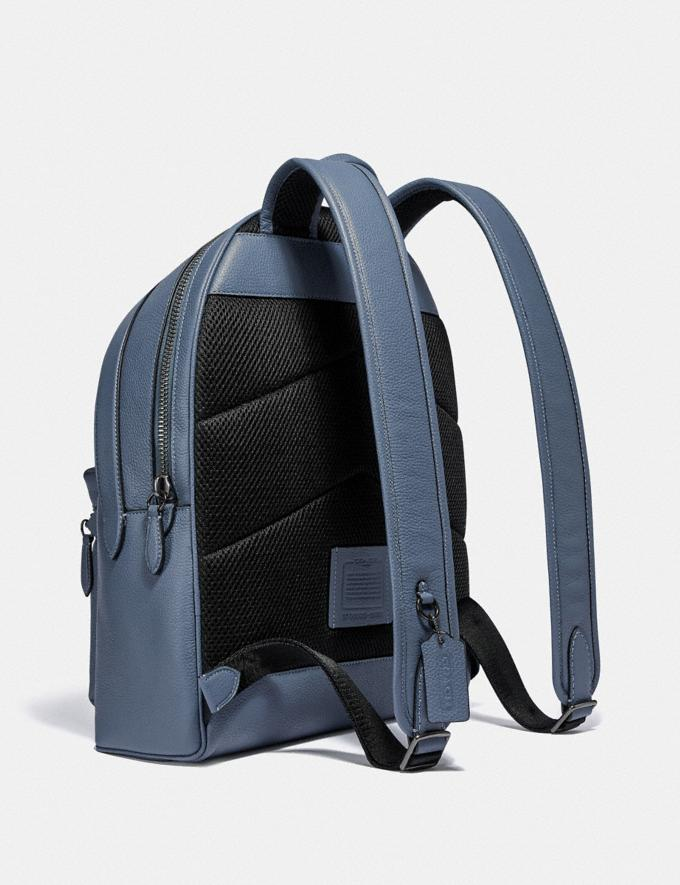Coach Charter Backpack Black Copper/Blue Quartz New Men's New Arrivals Bags Alternate View 1