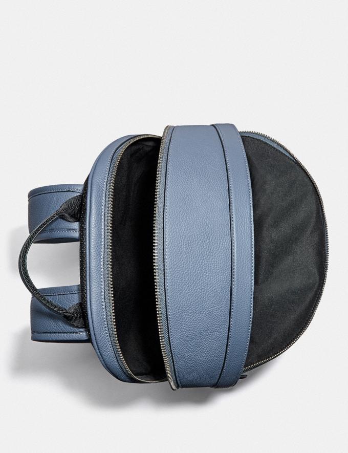 Coach Charter Backpack Black Copper/Blue Quartz New Men's New Arrivals Bags Alternate View 2
