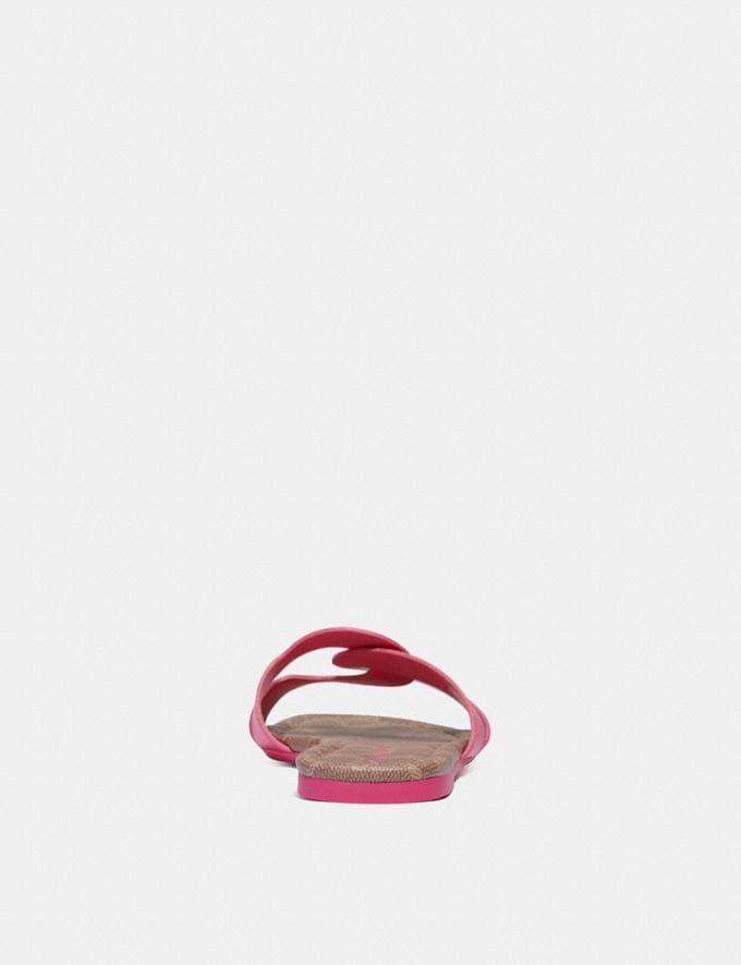 Coach Essie Sandale Knalliges Pink Damen Schuhe Sandalen Alternative Ansicht 3