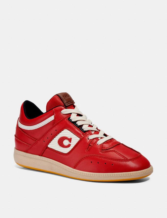 Coach Citysole Mid Top Sneaker Electric Red