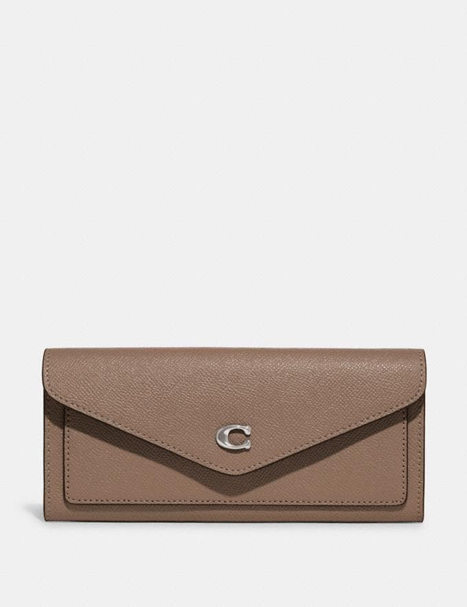 Coach Wyn Soft Wallet Lh/Taupe