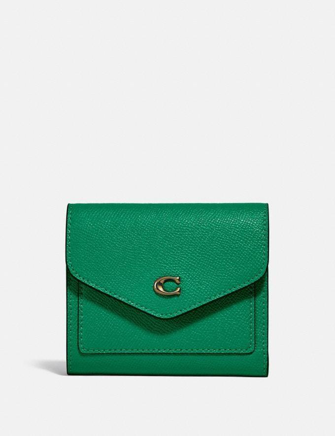 Coach Wyn Small Wallet B4/Green null