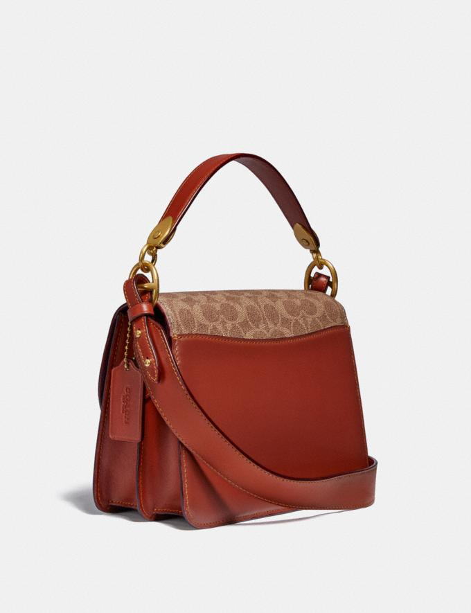 Coach Beat Shoulder Bag in Signature Canvas With Horse and Carriage Print Brass/Tan Truffle Rust New Women's New Arrivals Bags Alternate View 1