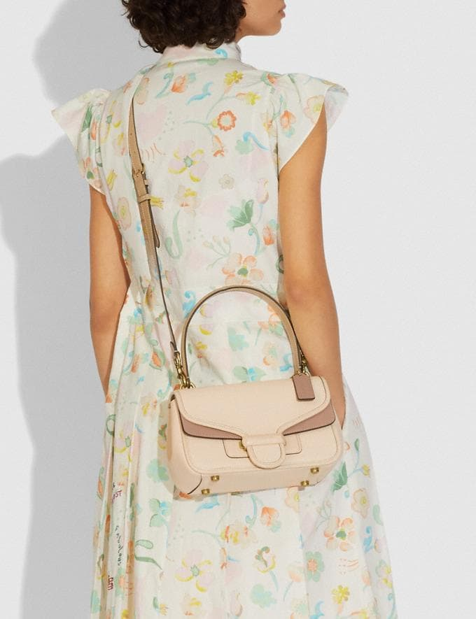 Coach Cody Shoulder Bag in Colorblock B4/Ivory Taupe Multi DEFAULT_CATEGORY Alternate View 3