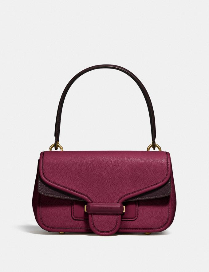 Coach Cody Shoulder Bag in Colorblock B4/Blk Cherry Oxblood Multi DEFAULT_CATEGORY