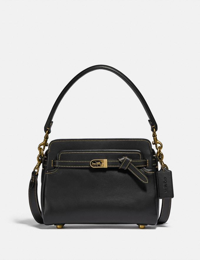 Coach Bolso Tate Brass/Black