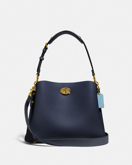 SAC ÉPAULE WILLOW COLOR BLOCK