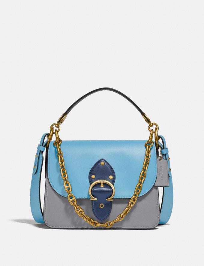 Coach Beat Shoulder Bag in Colorblock B4/Brnshd Ambr 1941 Sddl Multi DEFAULT_CATEGORY