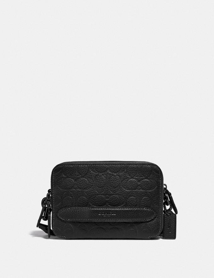 Coach Charter Crossbody in Signature Leather Black DEFAULT_CATEGORY